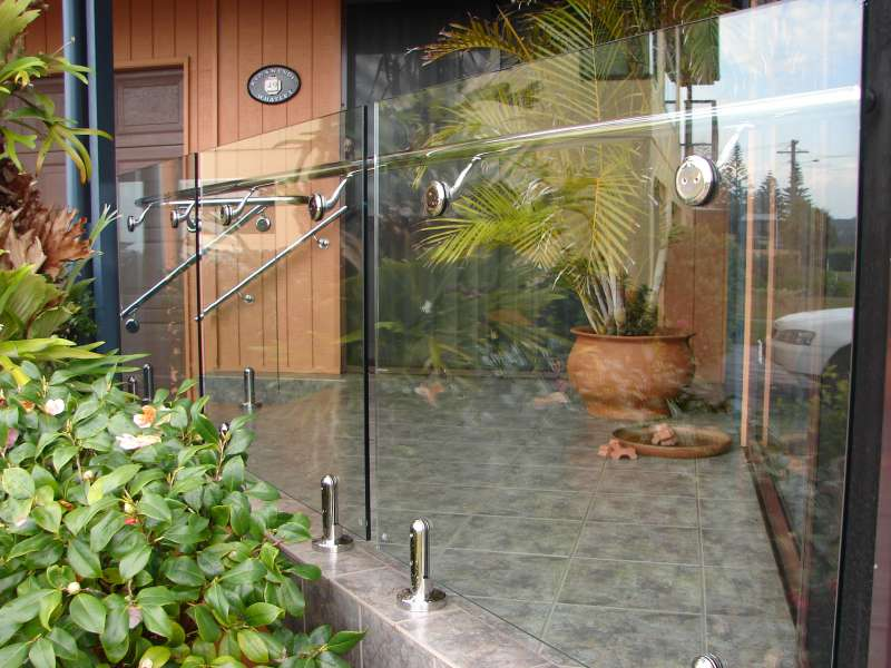 Frameless Glass for external balcony.