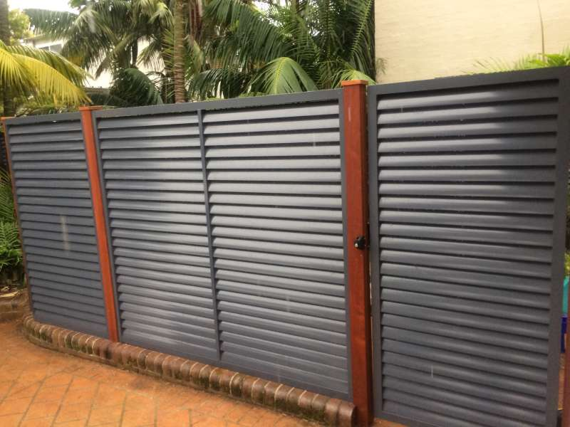 Louvres - Powder Coated Aluminium.