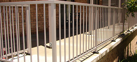 View our range of aluminium picket balustrades