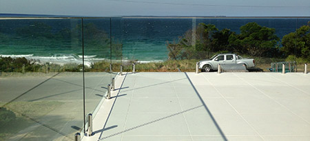 View our range of frameless top mounted glass balustrades