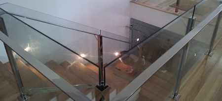 View our range of stainless steel & glass balustrades